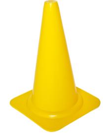Gele pionnen 23 cm