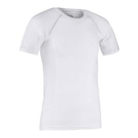 Thermoshirt zwart of wit met korte mouw Hummel