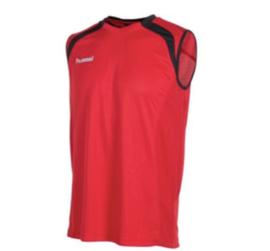 Running shirt rood