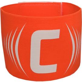Oranje aanvoerdersband met klittenband
