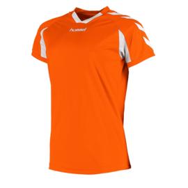 Oranje dames shirt korte mouw Hummel Everton