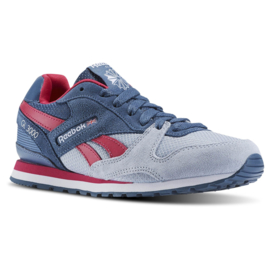 Reebok blauw grijze GL 3000 schoenen