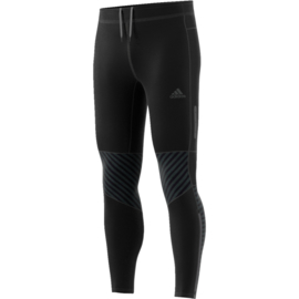 Running broek lang Adidas zwart heren