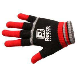 Rood zwarte Reece Australia hockey handschoenen