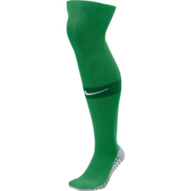 Lange donkergroene Nike keeperssokken