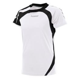 Wit dames shirt korte mouw Odense van Hummel