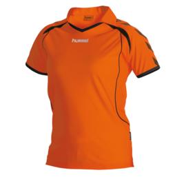 Hummel Brasil shirt ladies oranje