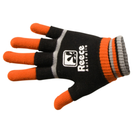 Oranje zwarte Reece Australia handschoenen hockey