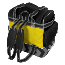 Gele Hummel Excellence Pro bag voetbaltas als rugzak