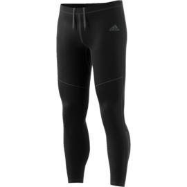 Zwarte adidas legging heren hardloopbroek