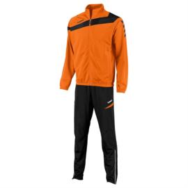 Hummel Elite Teamlijn trainingspak oranje