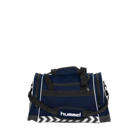 Donkerblauwe Hummel Sheffield voetbaltas