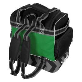 Groene Hummel Excellence Pro bag voetbaltas als rugzak
