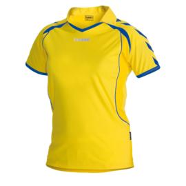 Hummel geel Brasil shirt ladies