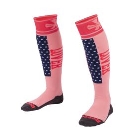 Roze Reece Louth hockey sokken
