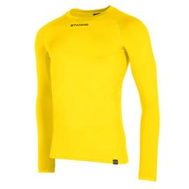 Thermoshirt geel Stanno