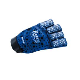 Hockeyhandschoen bescherming blauw Reece