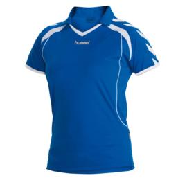 Hummel Brasil shirt ladies blauw