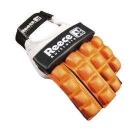Oranje Hockey protectie handschoen halve vingers