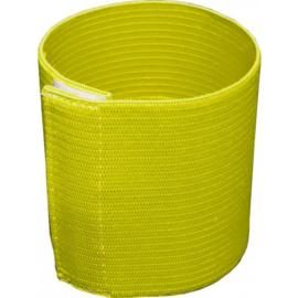 Gele aanvoerdersband