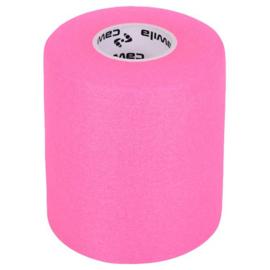Roze Elastische Preventie tape bij blessures