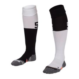 Zwart witte Numbaa hockeysokken