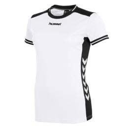 Hummel wit dames shirt korte mouw Lyon