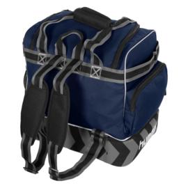 Blauwe Hummel Excellence Pro bag voetbaltas als rugzak