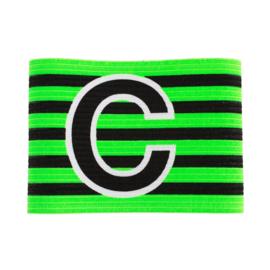 Groene aanvoerdersband met klittenband