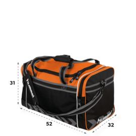 Oranje Hummel sporttas Milton