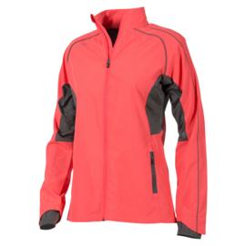Running jas rood dames Hummel