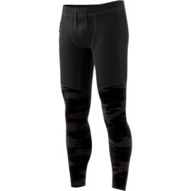 Running broek heren Adidas zwart
