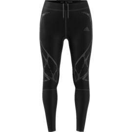 Hardloop legging dames zwart Adidas