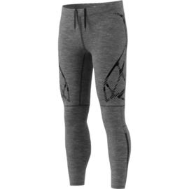 Hardloop legging Adidas heren grijs