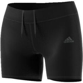 Zwarte running broek dames Adidas