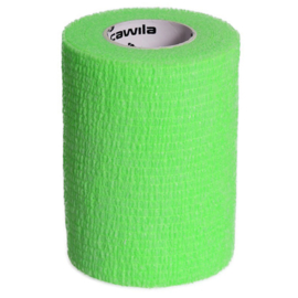 Groene Elastische Preventie tape bij blessures