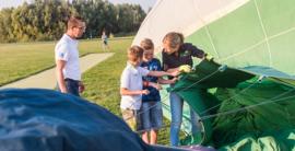 Ballonvaart kinderen