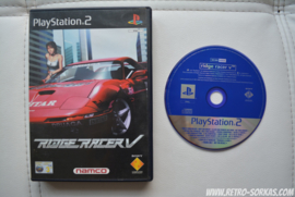PS2 Promo Ridge Racer V