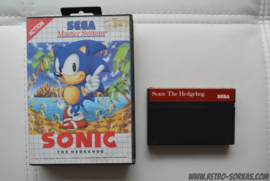 SEGA Master System - Sonic the Hedgehog (Boxed)
