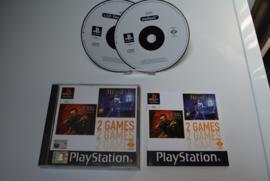 PS1 2 Games Medievil C-12