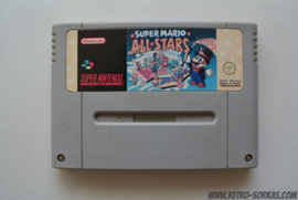 Super Mario All Starts (sun-faded label)