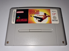 SNES Dragon the Bruce Lee Story