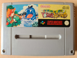 SNES Super Mario World 2 Yoshi's Isalnd cart