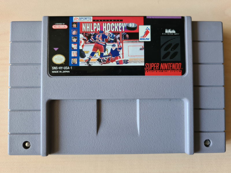 SNES USA NHLPA Hockey 93 (cart only)