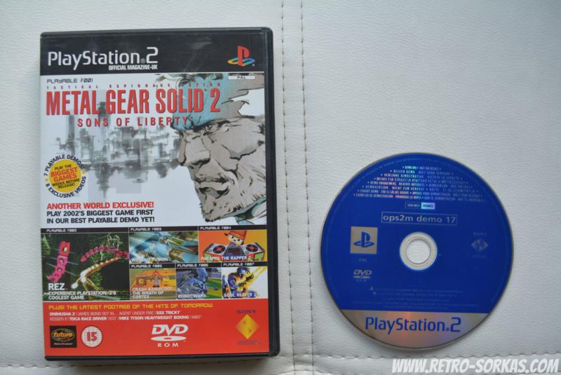 UK OPM2 Demo Disk 17 | UK Official PlayStation 2 Magazine