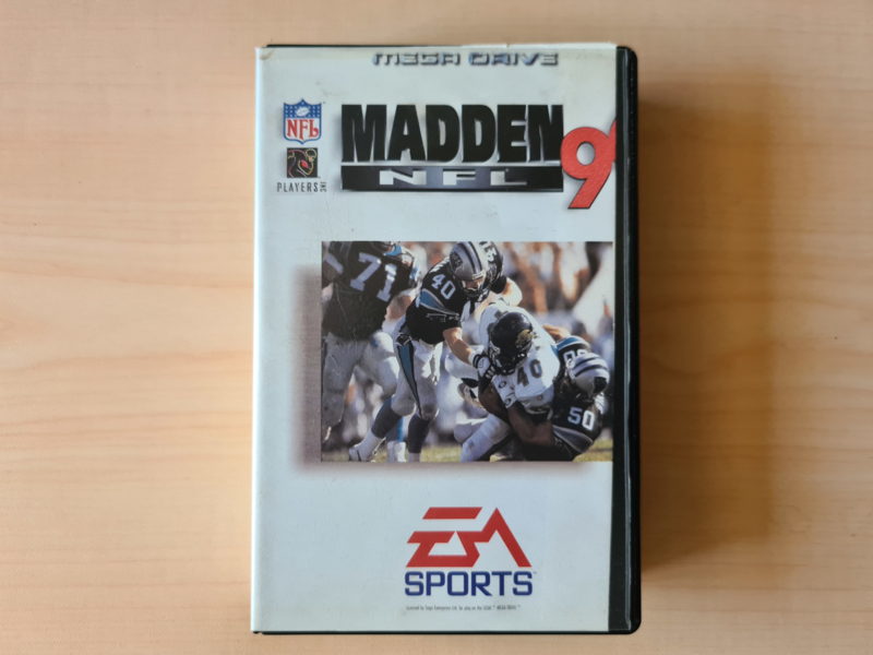 MD Madden NFL 96 CIB (Ex-Rental case)