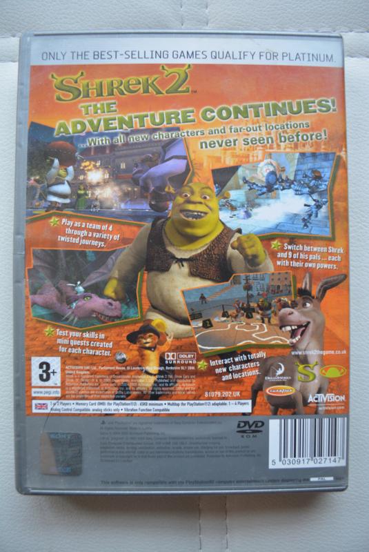 Shrek 2 Platinum Ps2 Games Retro Sorkas