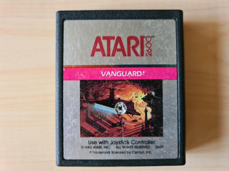 Atari Vanguard Cart Only