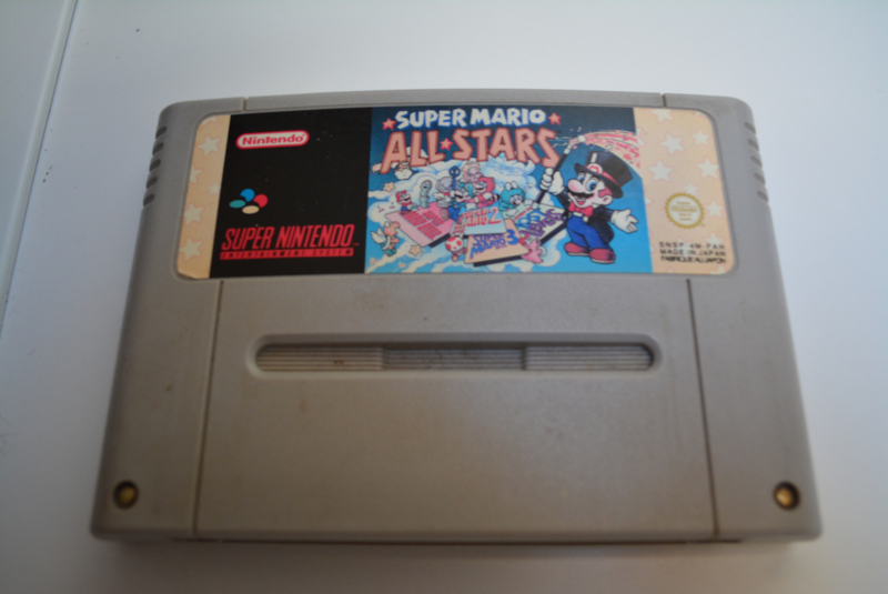 SNES Super Mario All Stars Discolor