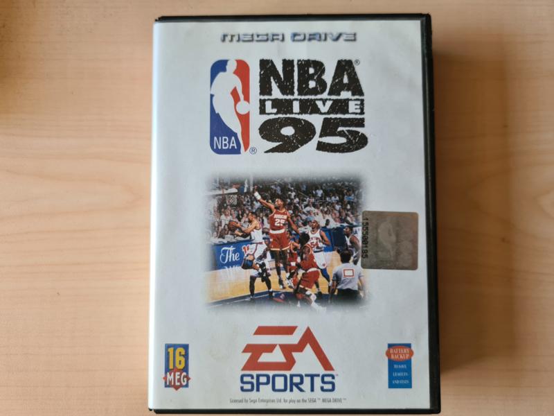 MD NBA Live 95 CIB